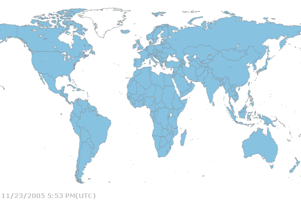 World Map Without Labels